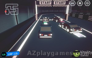 Play 3D Neo Racing Multiplayer