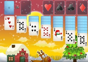 Play Santa Solitaire