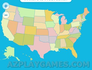 Play Geography 50 States