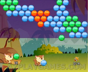 Squirrel Bubble Shooter