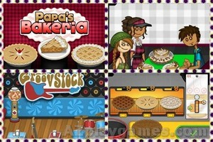 Play Papa's Bakeria