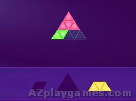 Blocks Triangle Puzzle