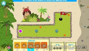 Play D.W.'s Island Bugball