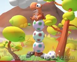 Play Dino Piler