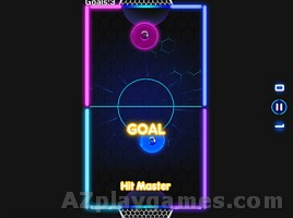 Play Glow Hockey HD