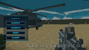 Play Helicopter And Tank Battle Desert Storm