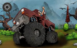 Play Monster Truck Flip Jumps