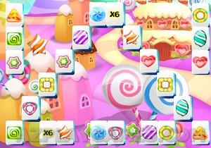 Play Candyland Mahjong