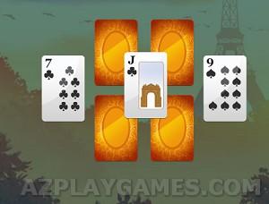 Play Paris Tripeaks
